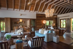 Tropical Villa Interior