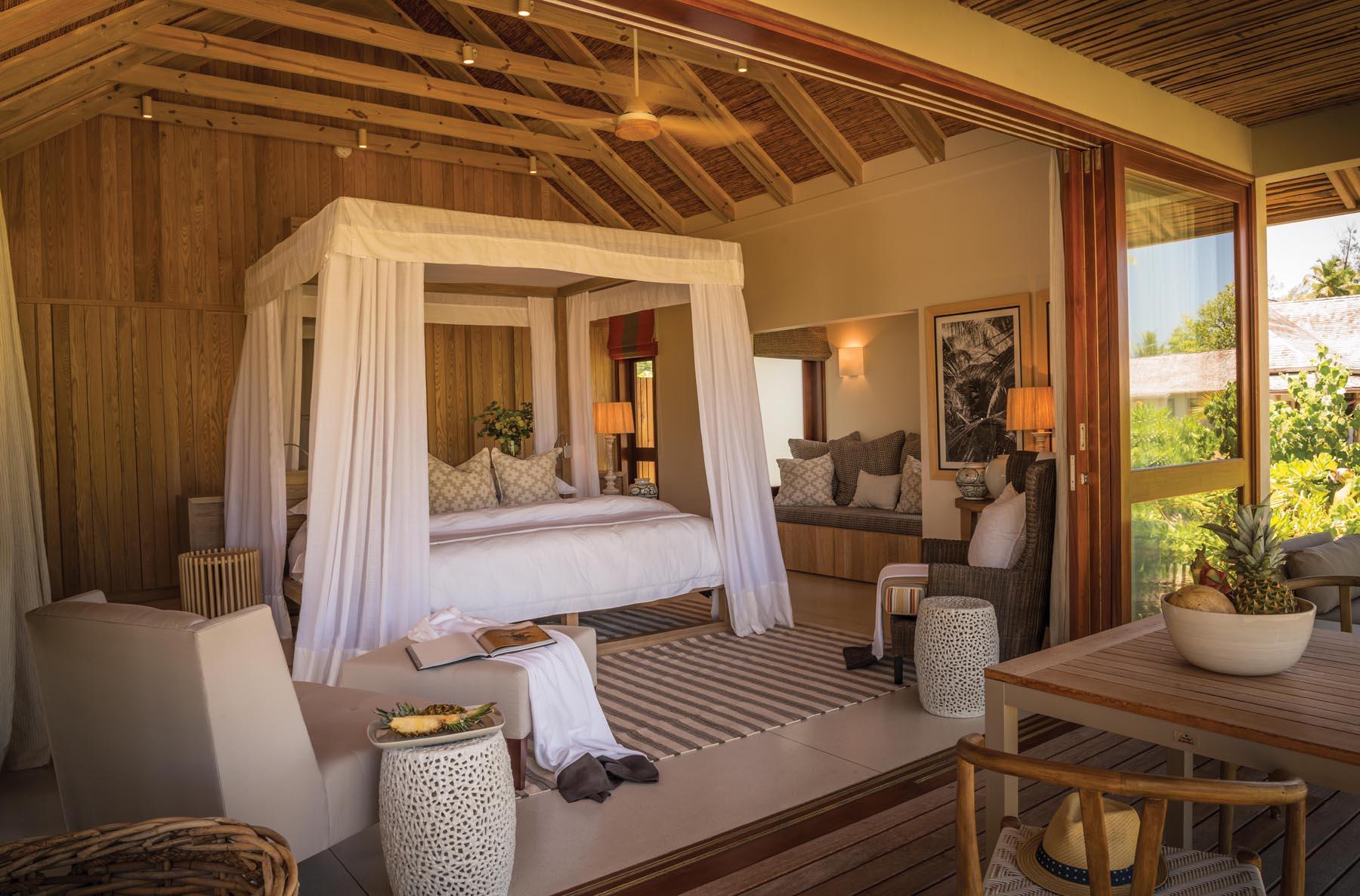 Seychelles Villa Bedroom