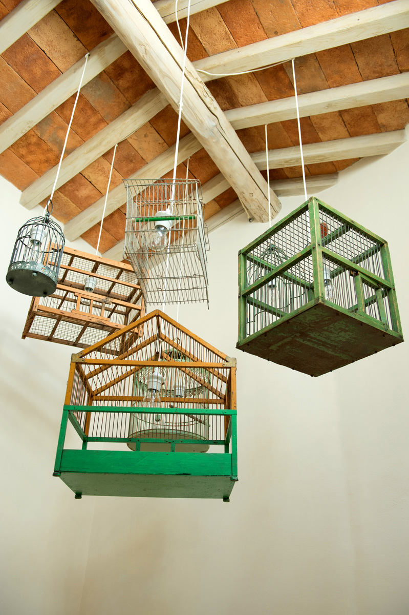 Cage Light Fixtures