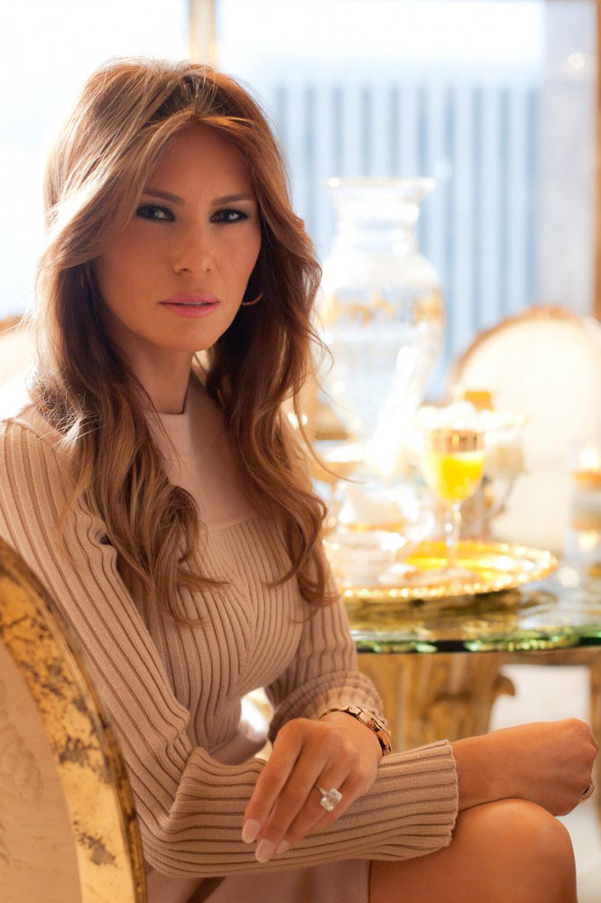 Melania-Trump-at-Home