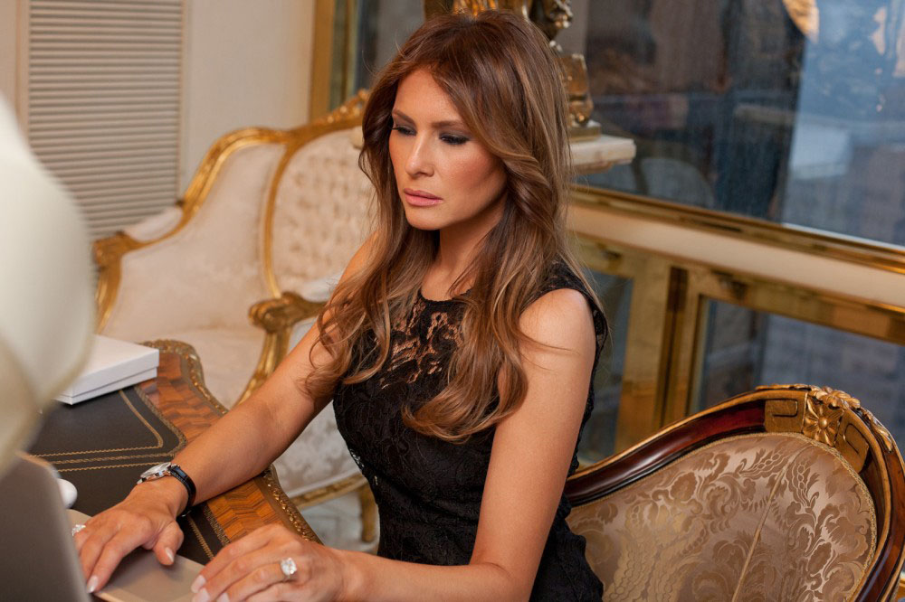 Melania Trump at Home
