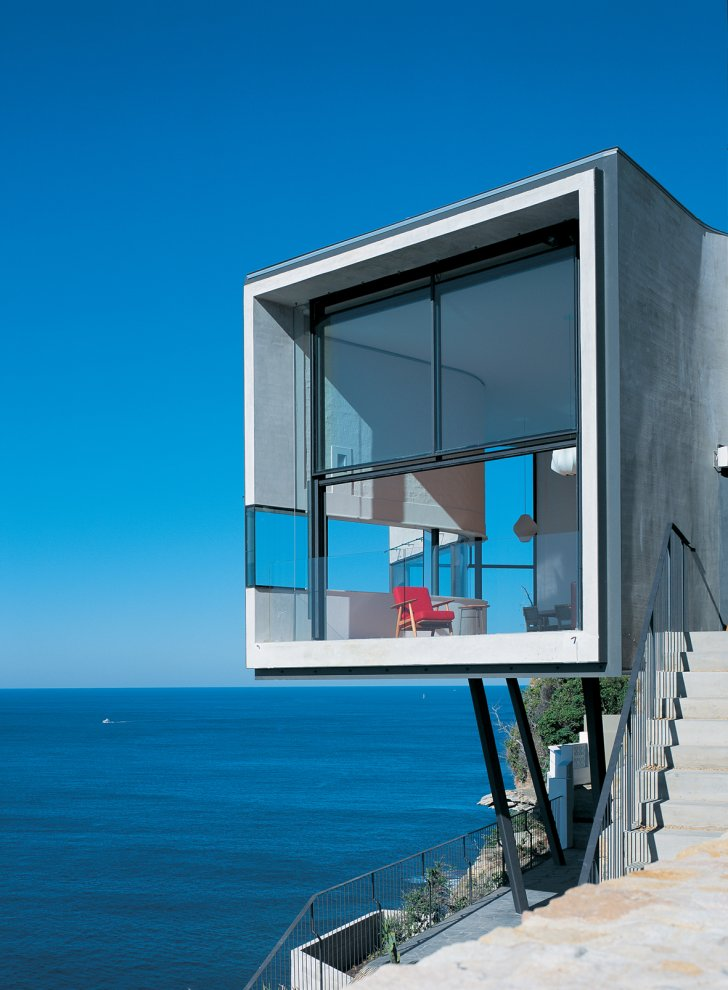Dramatic Cliffside House In Dover Heights Idesignarch