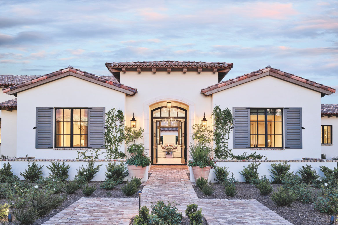 Timeless French Mediterranean Style Dream Home In Arizona Idesignarch Interior Design Architecture Interior Decorating Emagazine