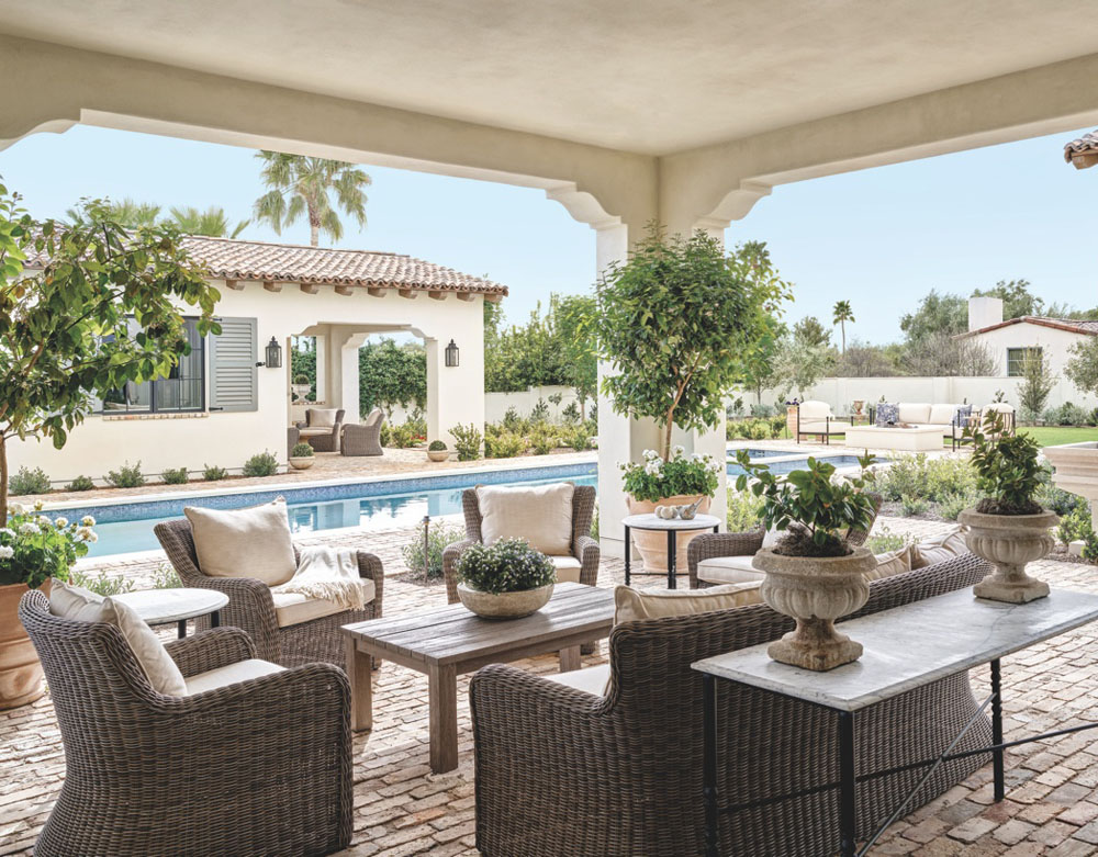 Timeless French Mediterranean Style Dream Home In Arizona