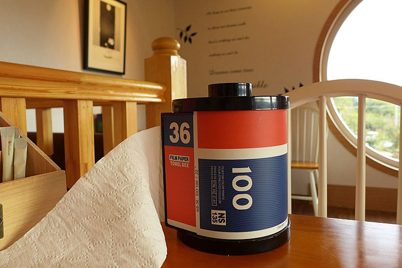 Camera Film Roll Paper Towel Holder