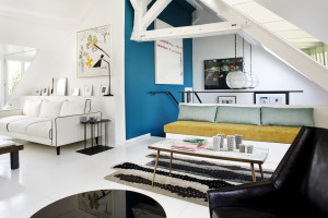 Chic Parisian Duplex Apartment