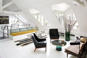 Chic Attic Apartment Paris France