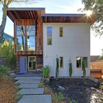 Environmentally Conscious Home Features Exterior Siding With Reclaimed Materials