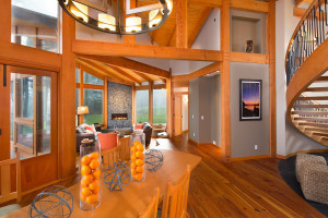 Elegant Timber Interior Design