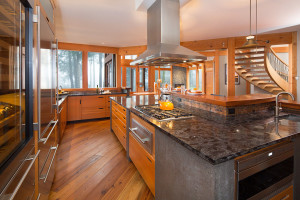 West Coast Contemporary Kitchen