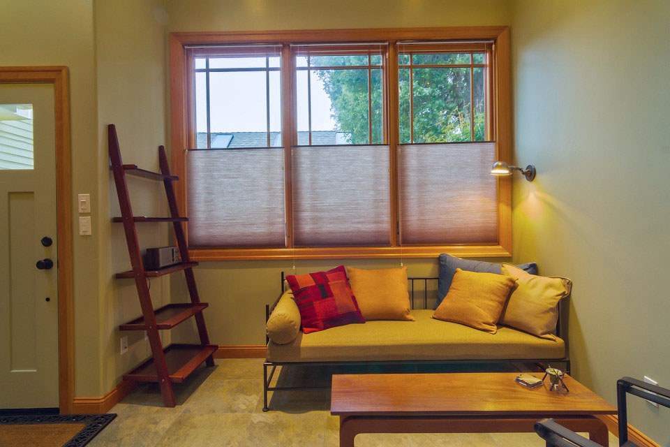 Craftsman Tiny House Living Room