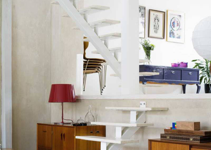 Eclectic Contemporary Decor In Old House In Sweden | iDesignArch ...