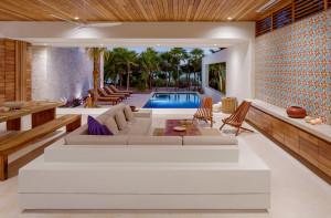 Beach House Open Living Room