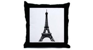Eiffe-Tower-Throw-Pillow