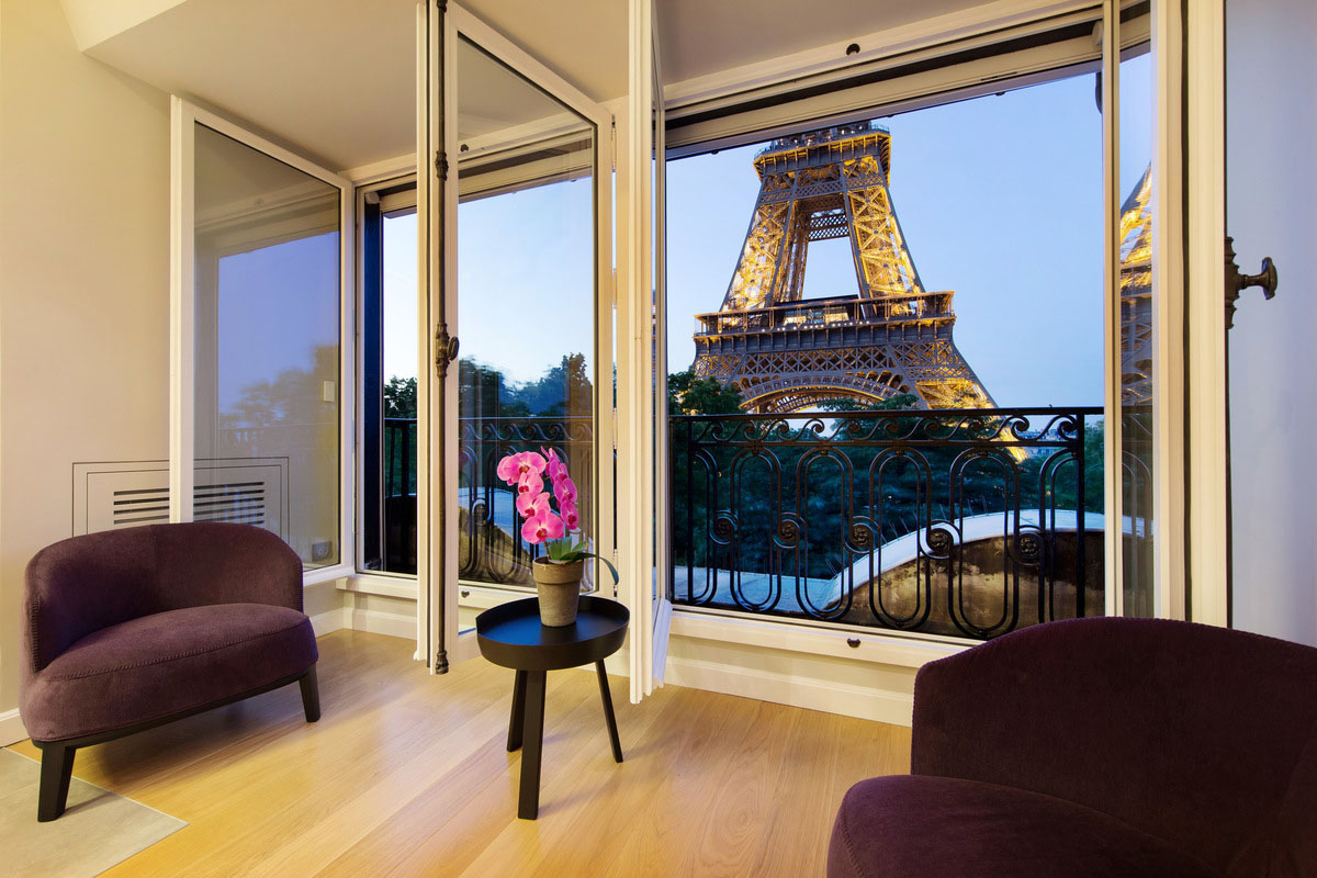 Quintessential Modern Paris Apartment With View Of The