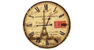 Eiffel-Tower-Wall-Clock