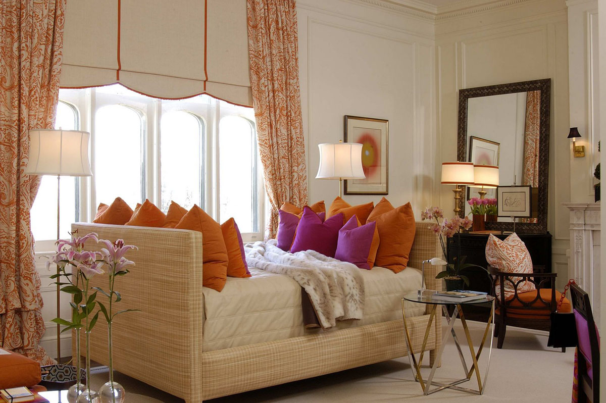 Jazz Up Your Living Room With Colourful Pillows. Decorate ...