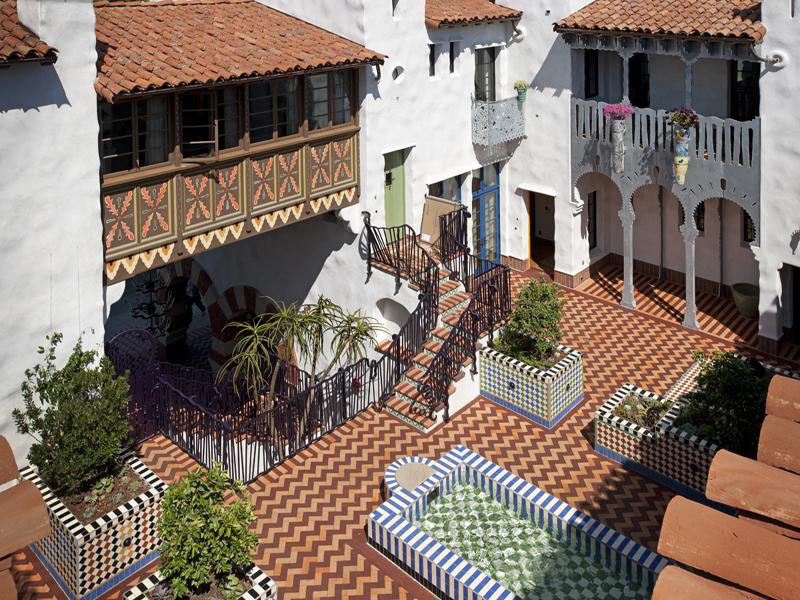 Moroccan Influenced Condominium Complex In Santa Barbara Idesignarch Interior Design Architecture Amp Interior Decorating Emagazine