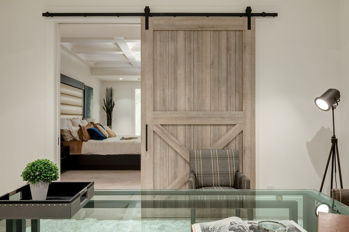 Elegant Interior Barn Door
