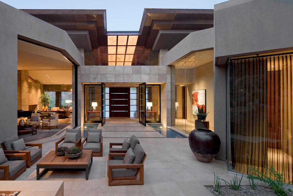 Home Design Ideas Classy: Elegant Home In Paradise Valley