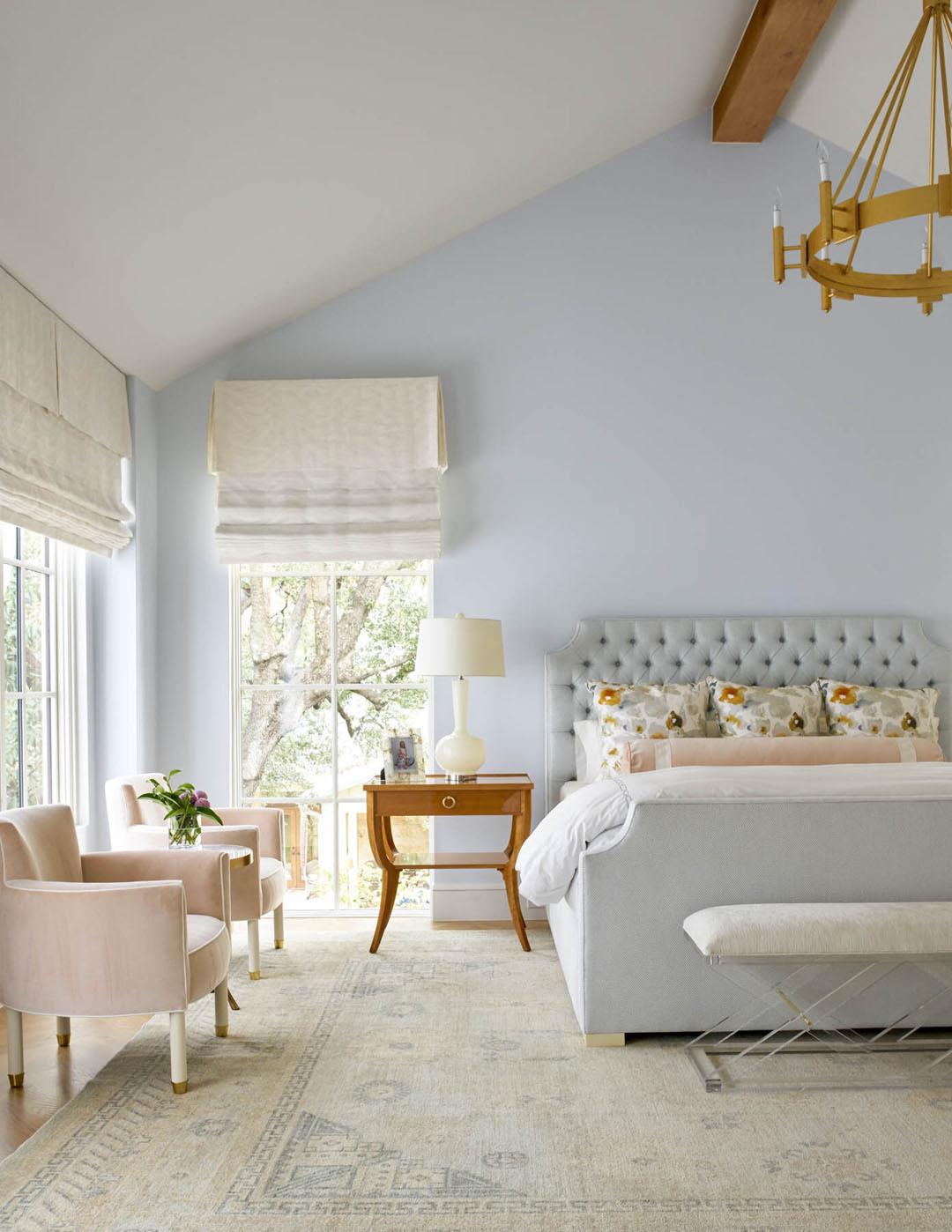 Pastel Blue Bedroom Design