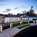 Newly Constructed Luxury Modern Farmhouse Style Estate in a Serene Setting