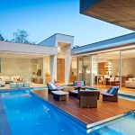 Timeless Modern Residence with Stunning Lap Pool and Floating Deck