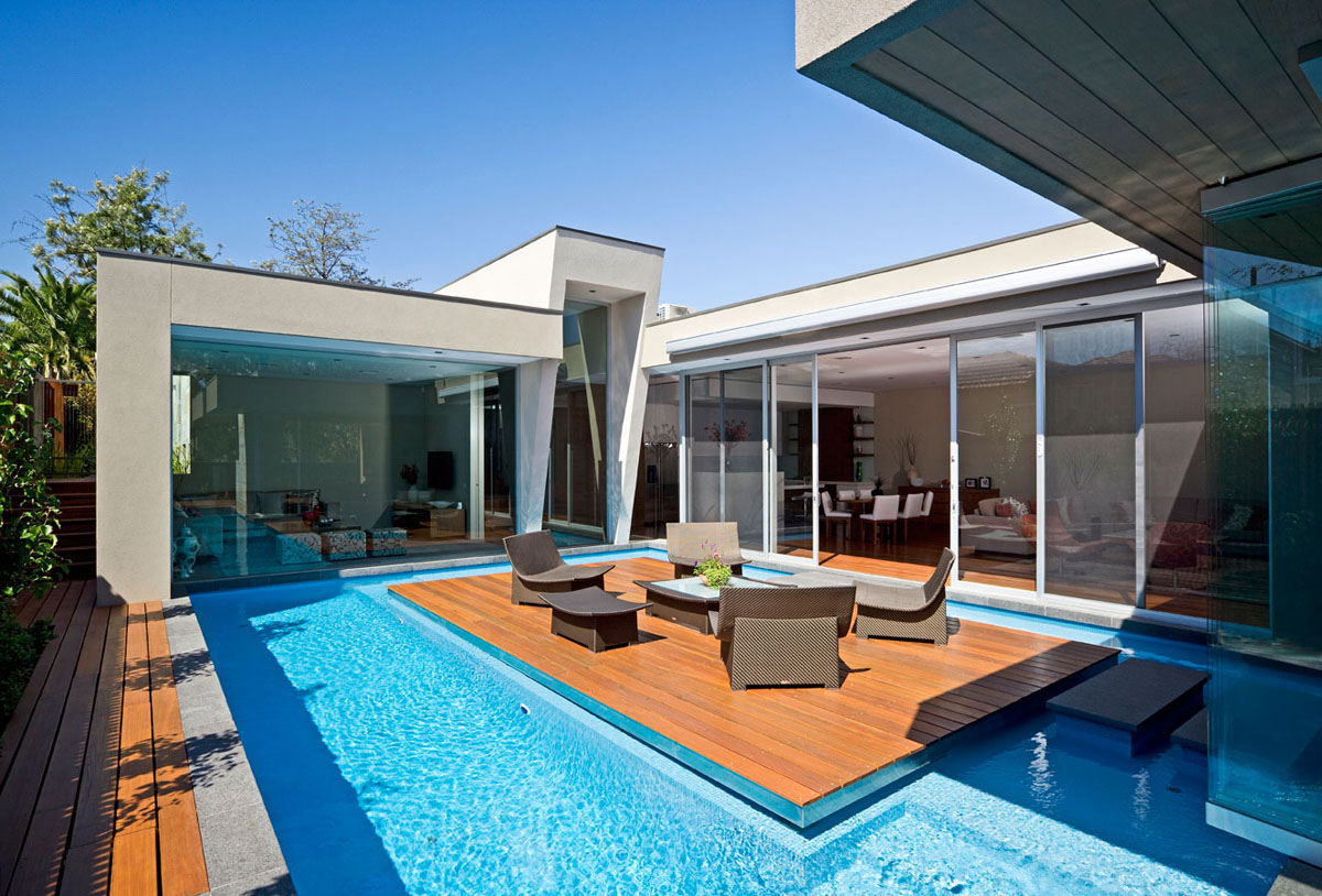 Timeless Modern Residence with Stunning Lap Pool and ...