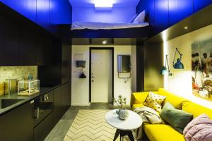 Tiny Studio with Sleeping Loft