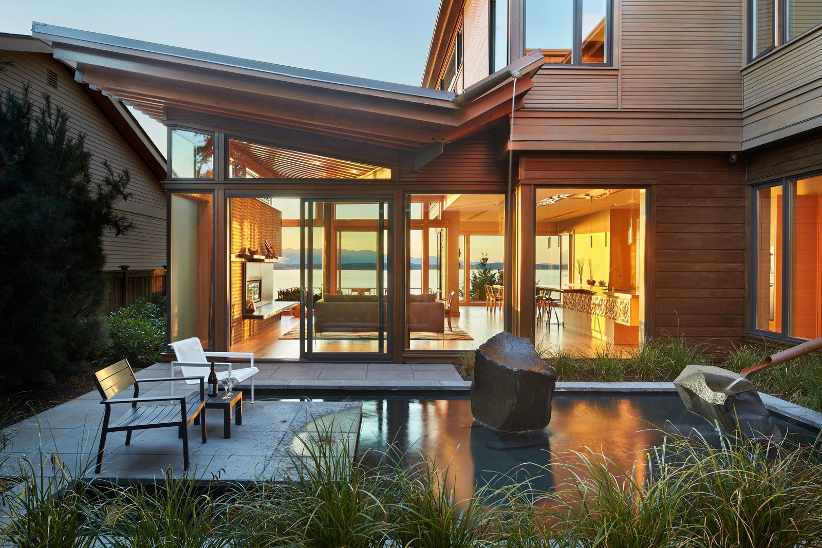 Puget Sound Seattle Washington Modern Home
