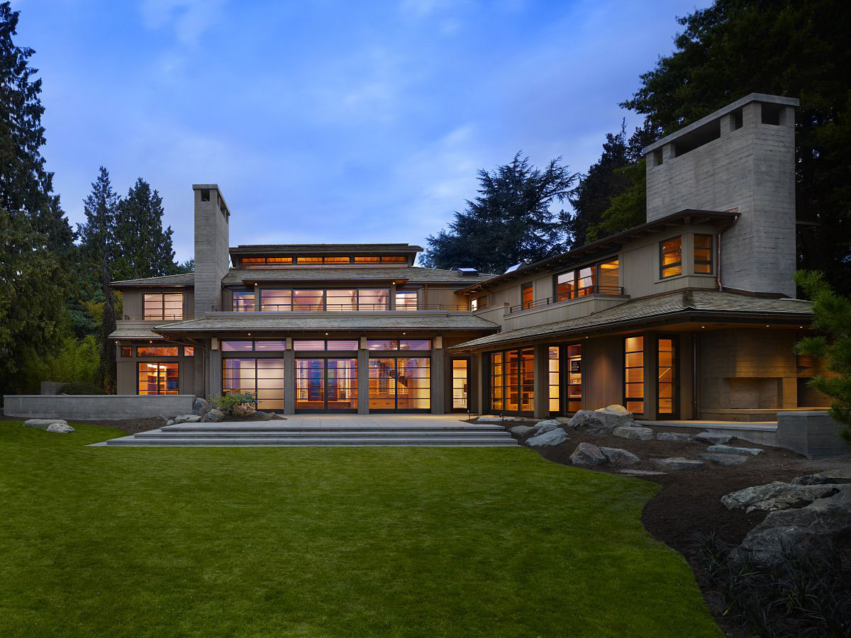 Contemporary seattle house