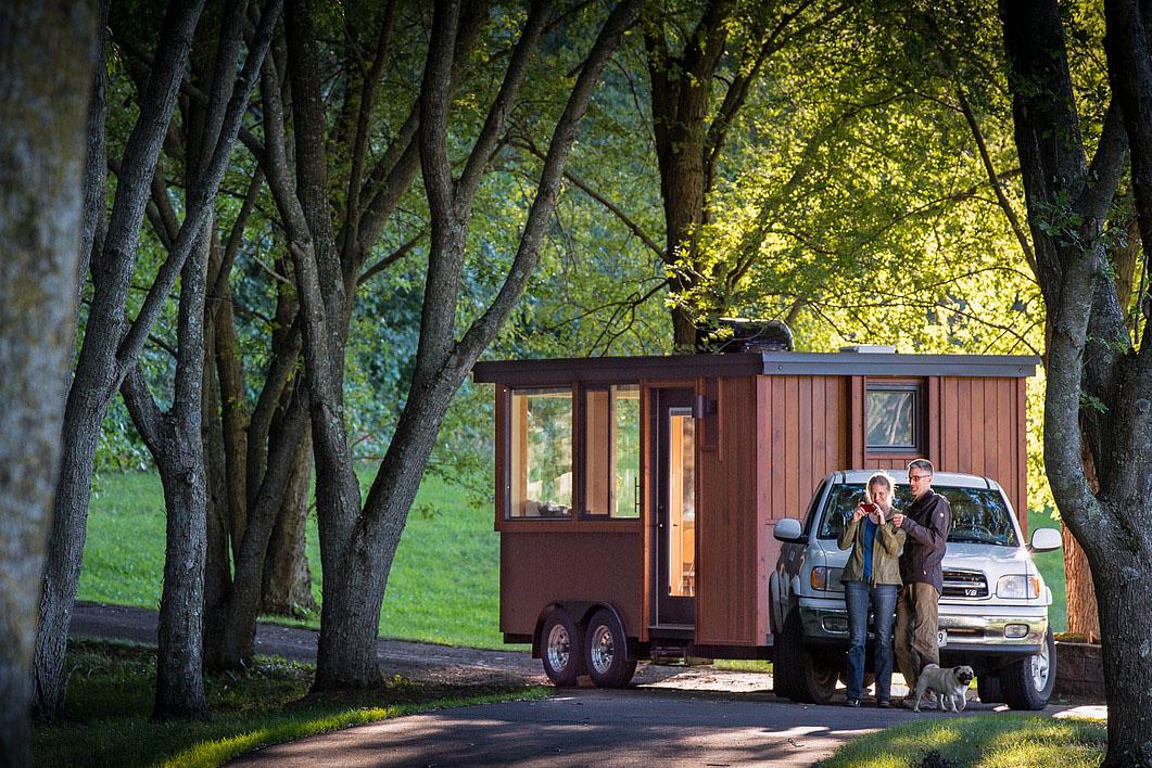 Vacation Tiny House on Wheels