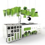 Eco-Friendly Futuristic Kitchen