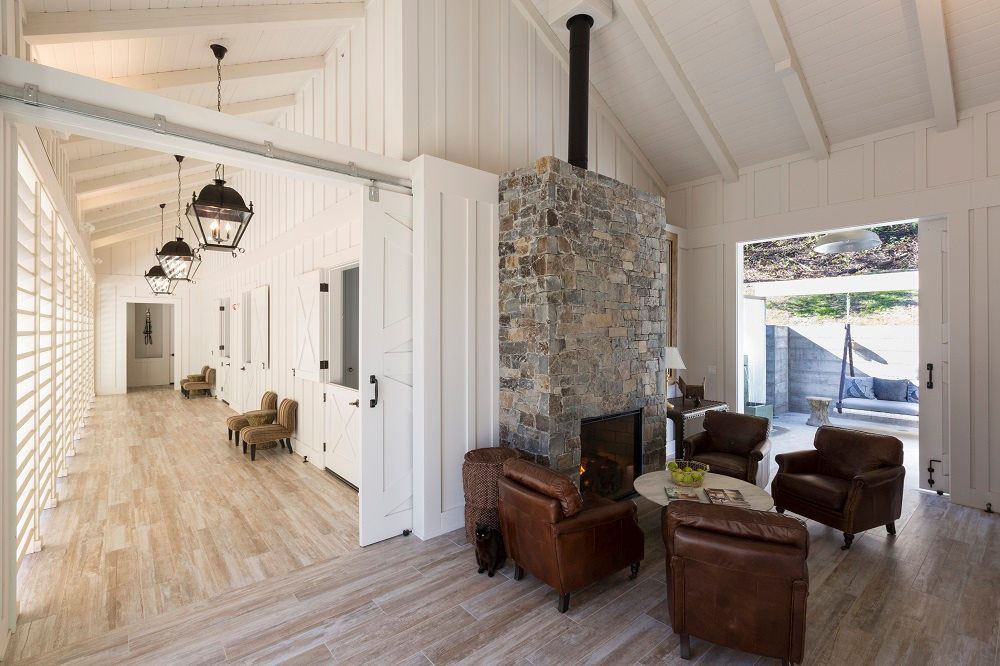 Country Inn with Barn Doors