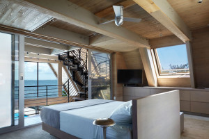 Modern Home Master Bedroom with Sea View