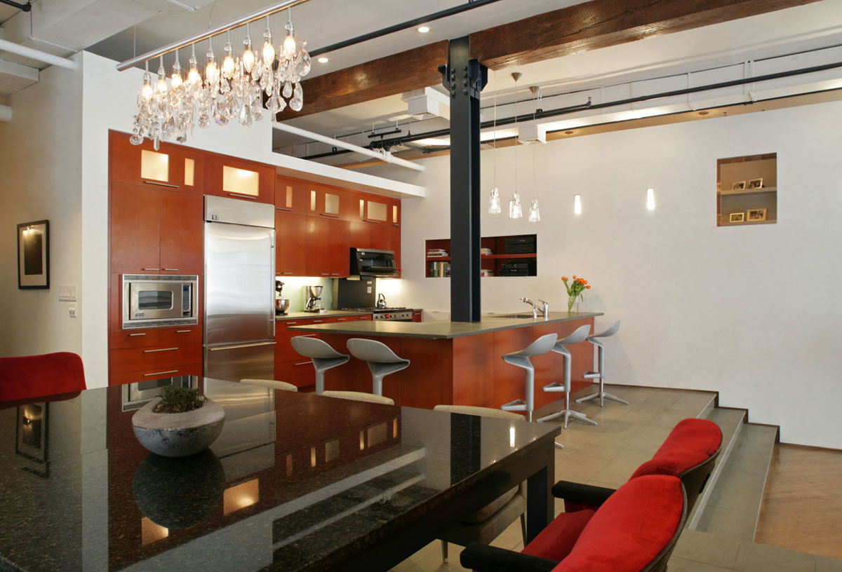 Elegant Open Plan Loft