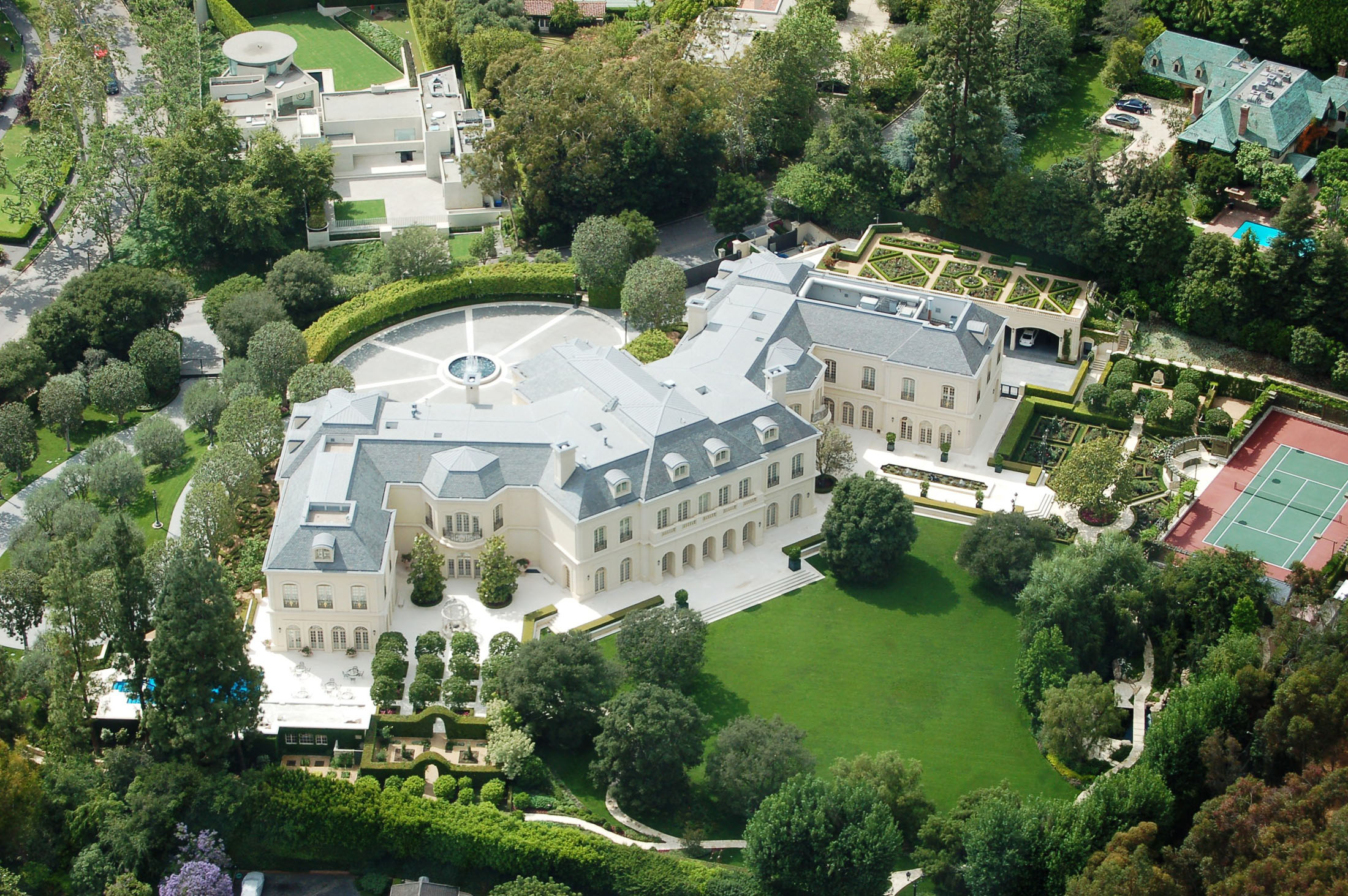 Stunning French Chateau Style Mansion In Los Angeles