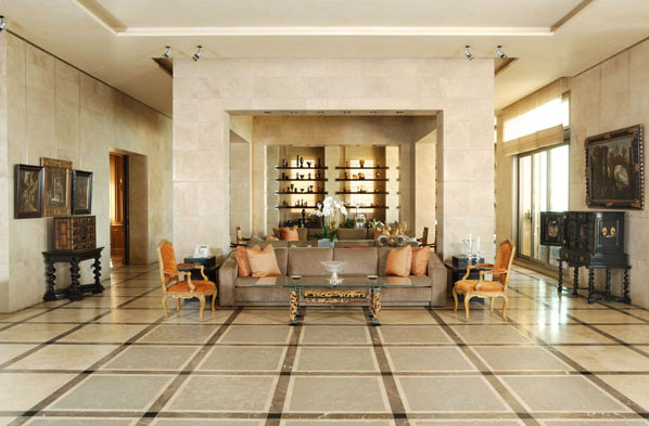 Fusion Style Interiors With Lebanese Influence ...
