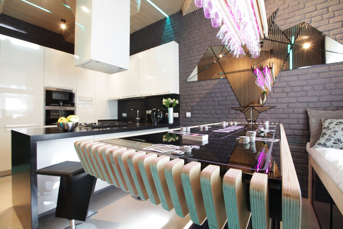 Cool Modern Kitchen Ideal For Entertaining Idesignarch Interior Design Architecture