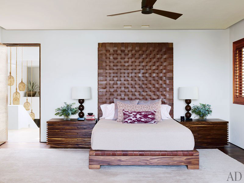 George Clooney's Master Bedroom
