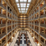 Renaissance Revival Style Architecture Of Baltimore's George Peabody Library