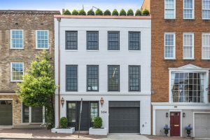 Federal-Style Rowhouse with One Car Garage