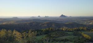 Glass House Mountains Views Maleny Queensland Australia