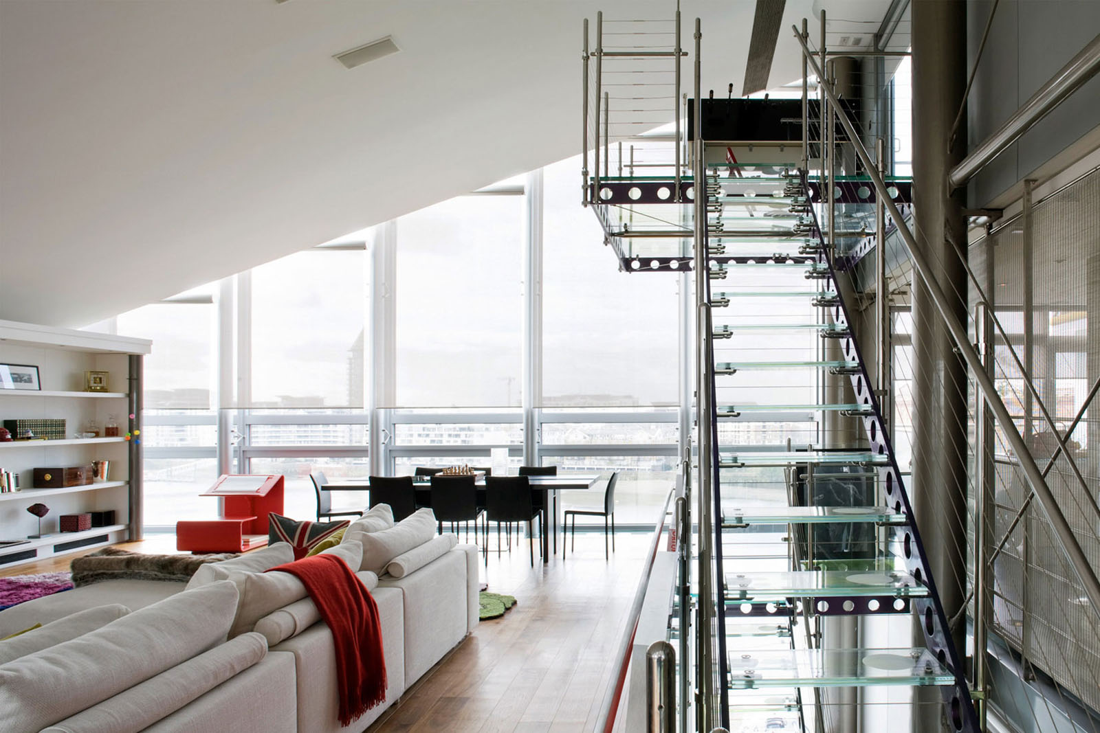 Glass Penthouse In London By The Thames Idesignarch