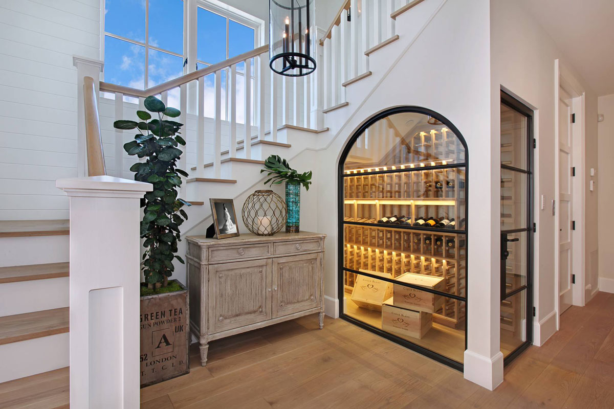 Gl Wine Cellar Under The Staircase