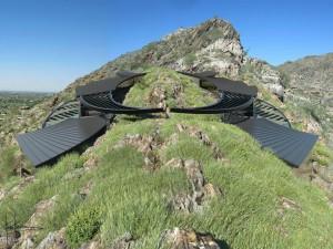 Futuristic Luxury Home on Mountain Top