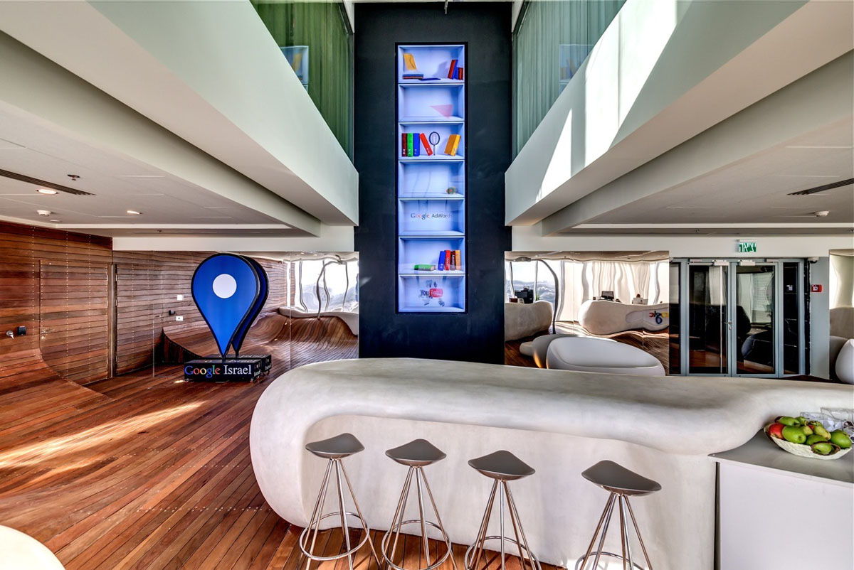 Google tel aviv office interiors idesignarch interior - Lloyds architecture planning interiors ...