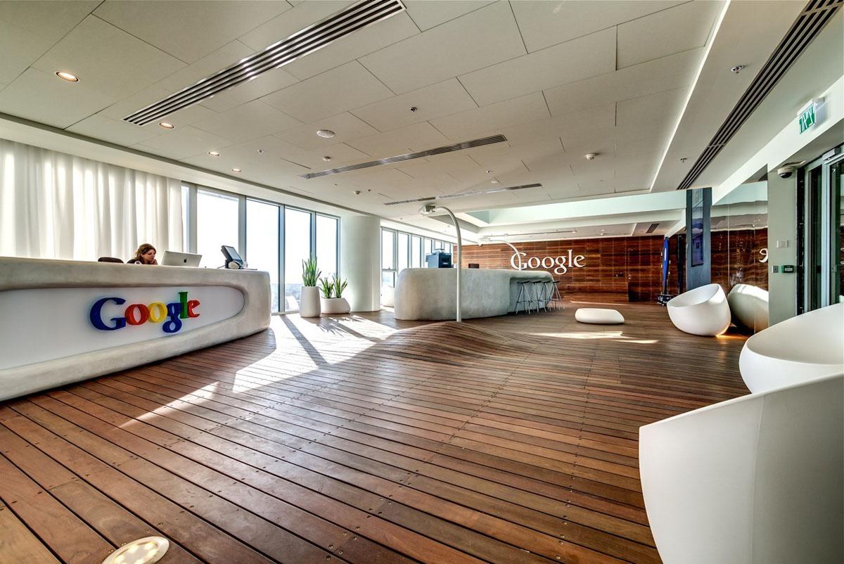 Google tel aviv office interiors idesignarch interior for Ufficio architetto design