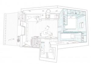 Attic Apartment Floor Plan
