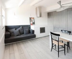 Small 2-Bedroom Attic Apartment